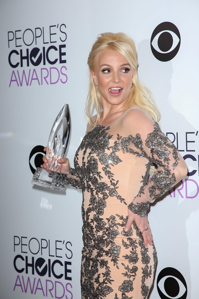 Britney Spears at the 40th Annual People's Choice Awards. Photo Credit: Andrew Evans / PR Photos.