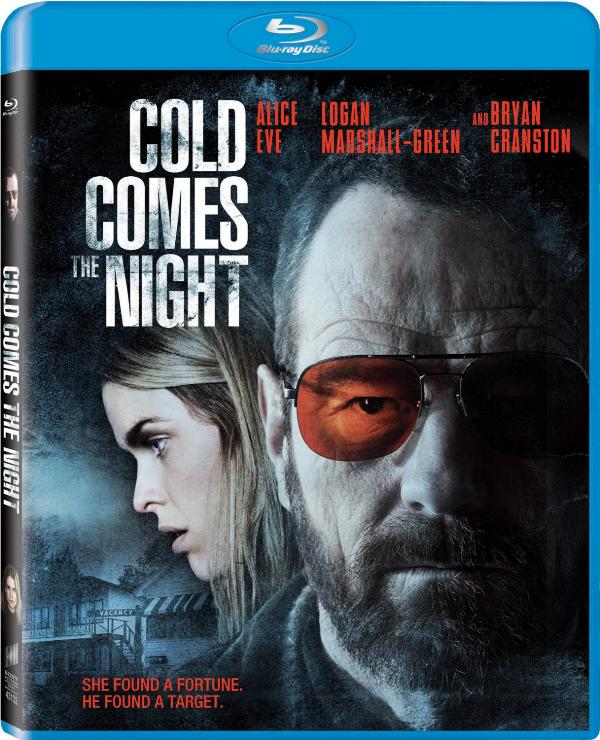 Blu-ray cover art for Cold Comes the Night.