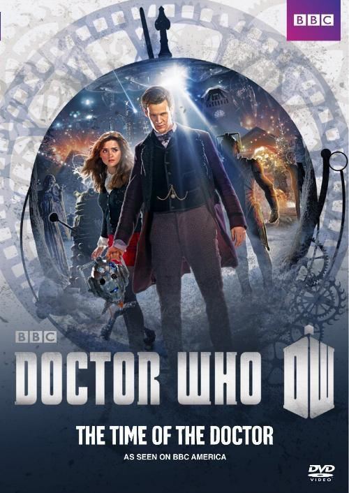BBC Worldwide and Titan Comics give Doctor Who a new realm for adventure. @Art from Doctor Who: The Time of the Doctor, now available on DVD.