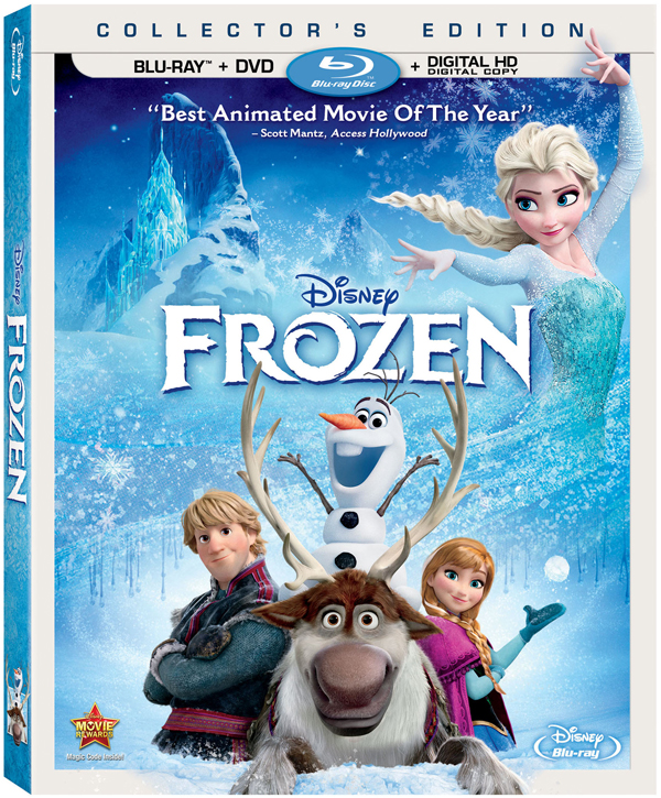 Disney's Frozen comes loaded with features on Blu-ray Combo Pack March 18th.