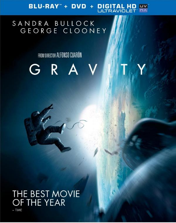 Own Gravity on Blu-ray 3D Combo Pack, Blu-ray Combo Pack, DVD and Digital HD 2/25
