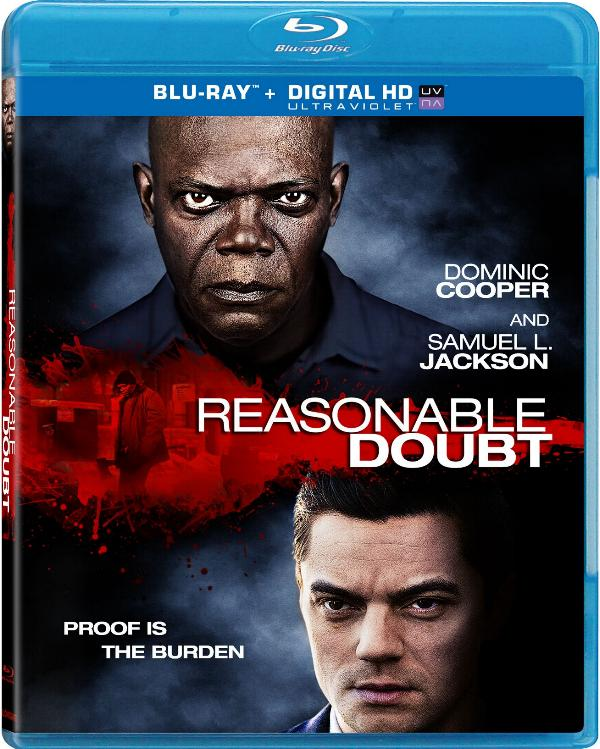 Reasonable Doubt Blu-ray cover art.