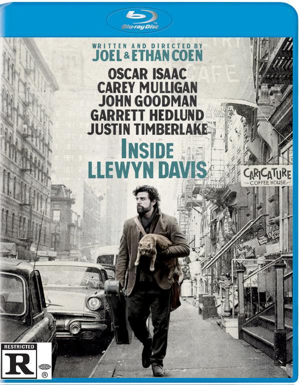 Front cover art to Inside Llewyn Davis Blu-ray edition.