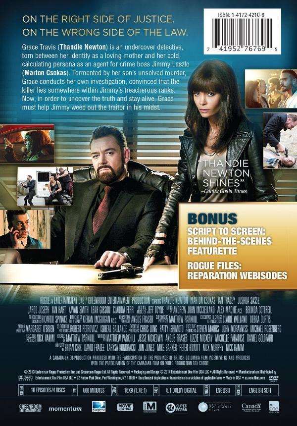 Back DVD Cover Art