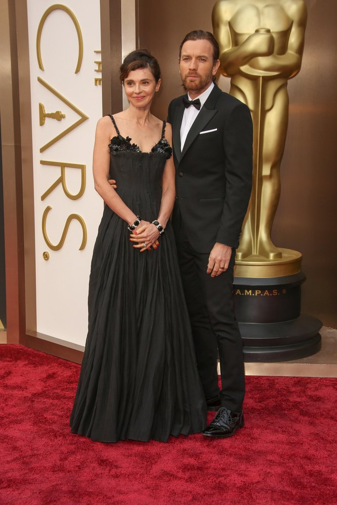 Ewan McGregor, Eve Mavrakis - 86th Annual Academy Awards - Arrivals - Hollywood & Highland Center - Hollywood, CA, USA Photo copyright by Andrew Evans / PR Photos
