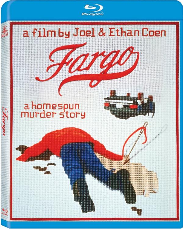 Blu-ray cover art for new remastered Fargo release.