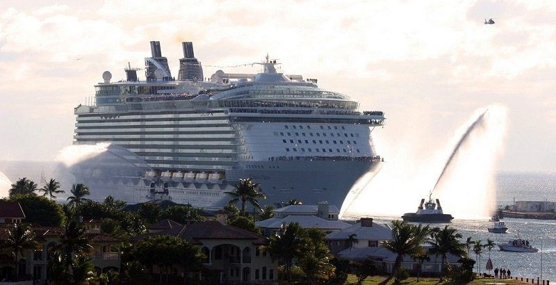 Oasis of the Seas in Fort Lauderdale, Florida