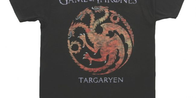 'Game of Thrones' T-Shirt Contest, Because Winter is Coming April 6!