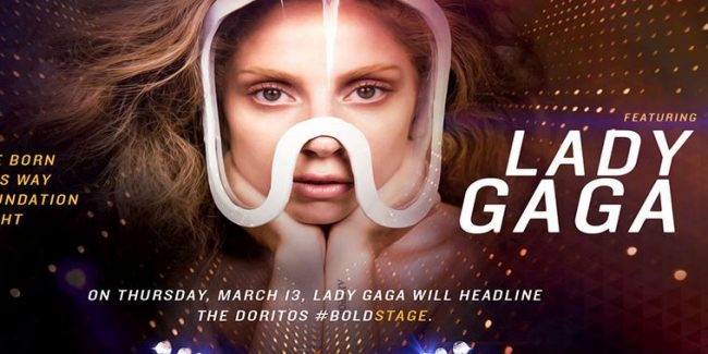 Lady Gaga to Headline Doritos #BoldStage at SXSW, Contest For Little Monsters