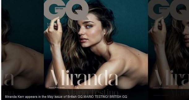Miranda Kerr's Bisexuality Hint