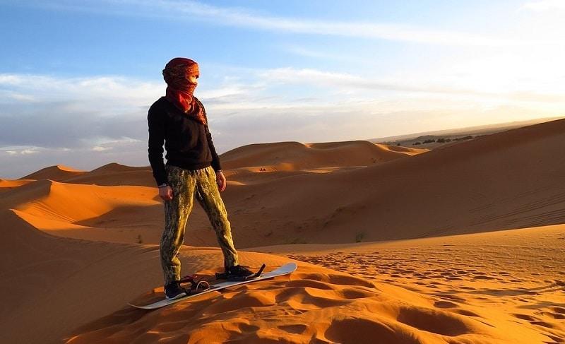 Desert in Algeria