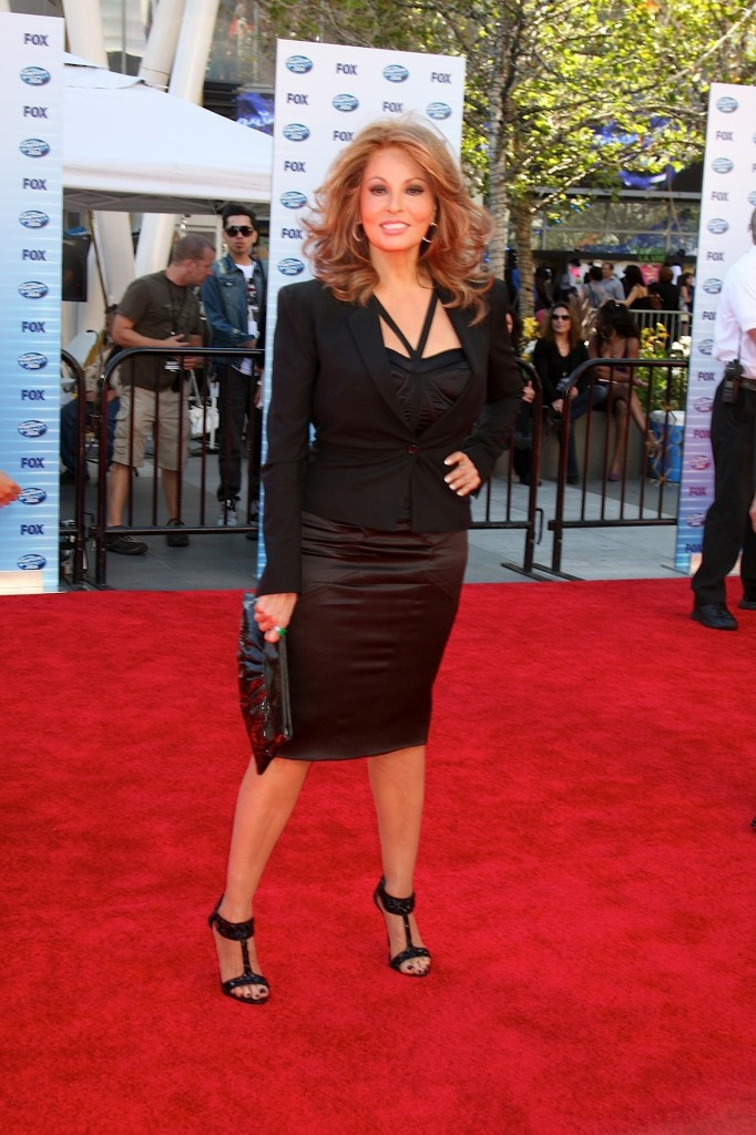 Raquel Welch arrives at the American Idol Finale - Season 9 Nokia Live Los Angeles, CA May 26, 2010