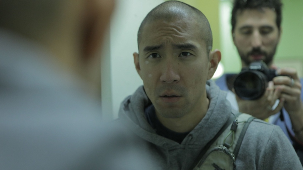 Clif Prowse and Derek Lee in Afflicted
