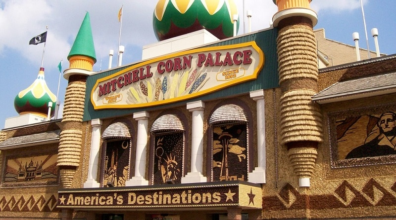 Entrance to the Corn Palace