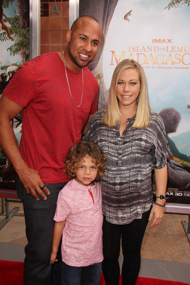 "Hank Baskett, Kendra Wilkinson - ""Island Of Lemurs: Madagascar"" World Premiere - Arrivals - California Science Center Imax Theater - Los Angeles, CA, USA  Photo copyright by Janice Ogata / PRPhotos.com"