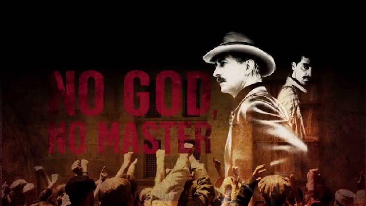 No God, No Master poster