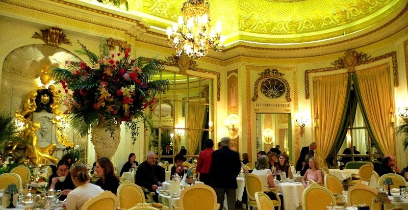 Afternoon tea at The Ritz Hotel