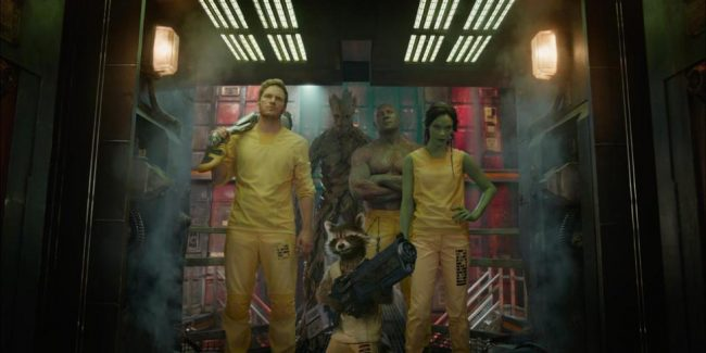 The misfit team from Marvel's Guardians of the Galaxy. Image courtesy Marvel Studios