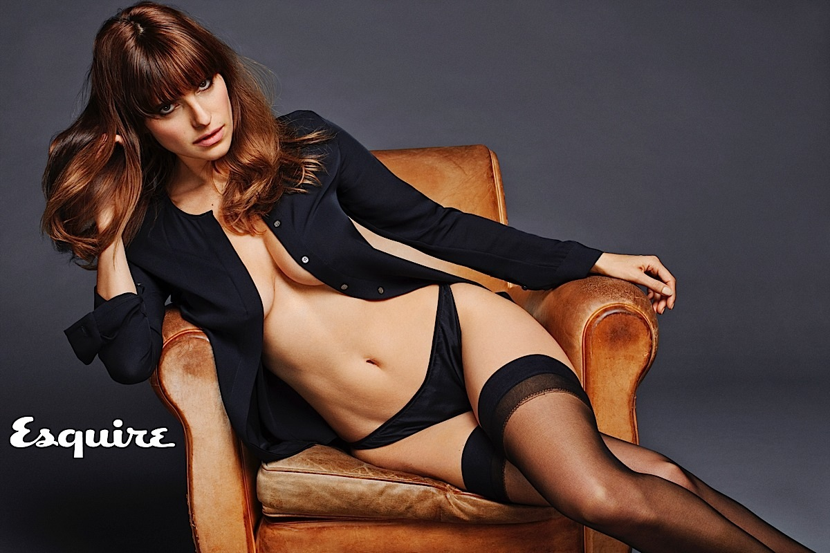 Lake Bell and Tom Hardy Both Topless for Esquire