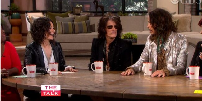 Aerosmith Visits 'The Talk' Plus Reality Faker Tori Spelling? Discuss! VIDEO