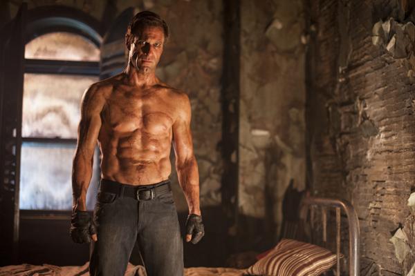 "Aaron Eckhart (""Adam"") stars in Lionsgate Home Entertainment's I, FRANKENSTEIN. Photo Credit: Ben King"