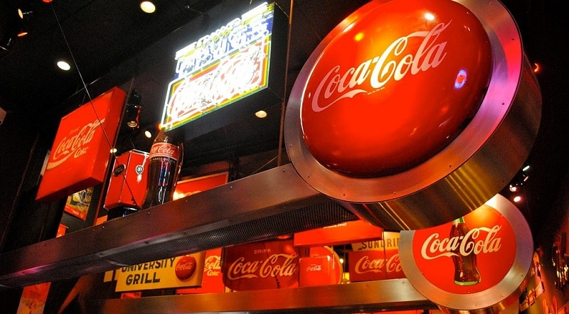 Exhibits at the World of Coca-Cola