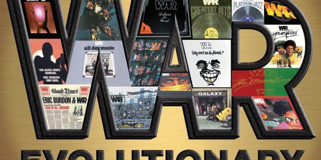 WAR New 'Evolutionary' LP Release Plus Tour Dates!