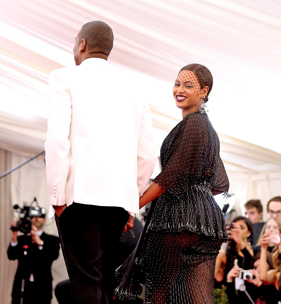 "Jay-Z, Beyonce - ""Charles James: Beyond Fashion"" Costume Institute Gala - Arrivals - Metropolitan Museum of Art - New York City, NY, USA  Photo copyright by Janet Mayer / PRPhotos.com"