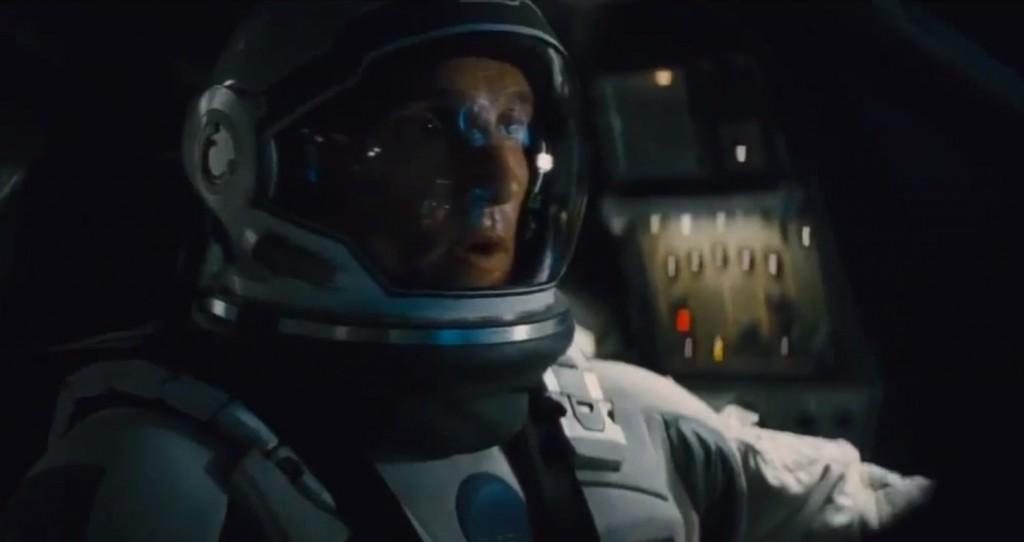 Matthew McConaughey in Paramount Pictures and director Christopher Nolan's Interstellar