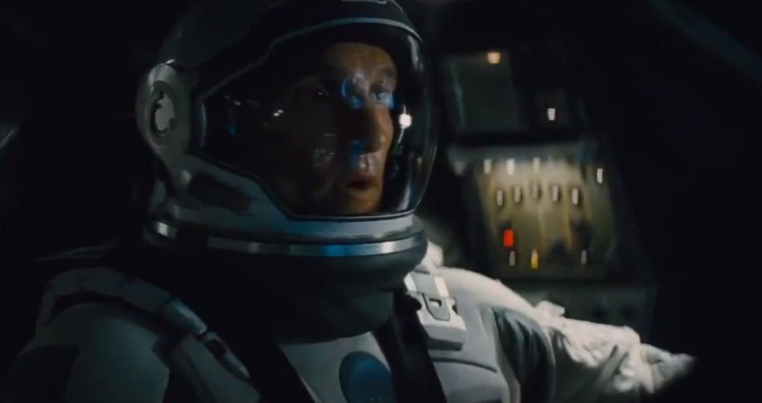 Matthew McConaughey in Paramount Pictures and director Christopher Nolan's Interstellar