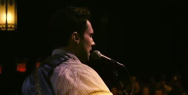 "Watch: Adam Levine Sings ""Lost Stars"" in New 'Begin Again' Trailer!"
