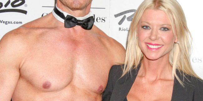 Ian Ziering, Tara Reid - Tara Reid Visits Ian Ziering as Celebrity Guest of Chippendales at Chippendales Theater in Las Vegas on June 21, 2014 - Chippendales at Chippendales Theater at the Rio All-Suite Hotel and Casino - Las Vegas, NV, USA  Photo copyright by PRN / PRPhotos.com
