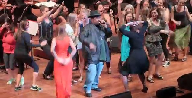 Big Butts Baroque: Sir Mix-A-Lot's Seattle Jam  VIDEO