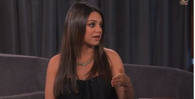 Mila Kunis Interview on Jimmy Kimmel  VIDEOS