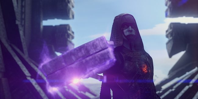 Marvel's Guardians Of The Galaxy..Ronan the Accuser (Lee Pace)..Ph: Film Frame..?Marvel 2014