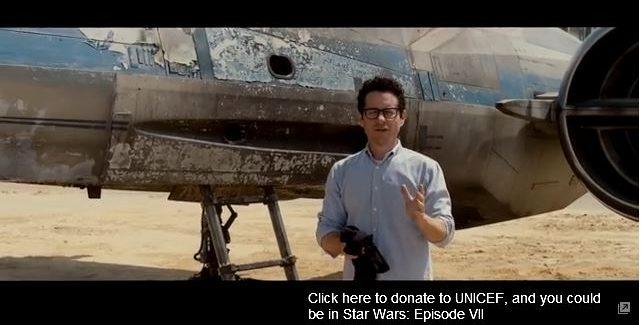 """Star Wars: Episode VII"" Director J.J. Abrams Reveals X-Wing Fighter, More VIDEO"