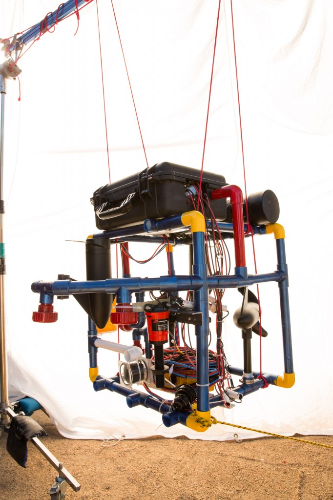 Underwater dreams image - robot stinky