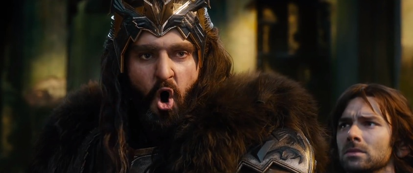 Thorin Oakenshield (Richard Armitage) wants war in The Hobbit: The Battle of the Five Armies.