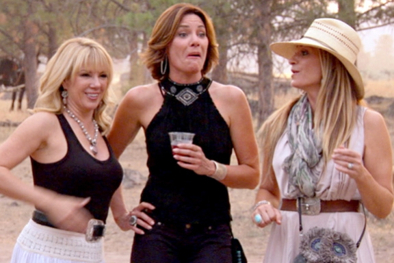 Recap: Real Housewives of New York, The Countess in a Porta Potty Edition