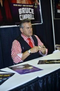 Bruce Campbell - Wizard World Chicago 2014 - Day 3 - Donald E. Stephens Convention Center - Rosemont, IL, USA  Photo copyright by Daniel Locke / PR Photos