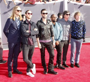 Maroon 5 - 2014 MTV Video Music Awards - Arrivals - The Forum - Inglewood, CA, USA  Photo copyright by David Gabber / PRPhotos.com