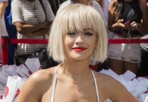 "Rita Ora - DKNY ""MYNY"" Fragrance Launch in New York City on August 19, 2014 - Madison Square Park - New York City, NY, USA  Photo copyright by MJ Photos / PRPhotos.com"