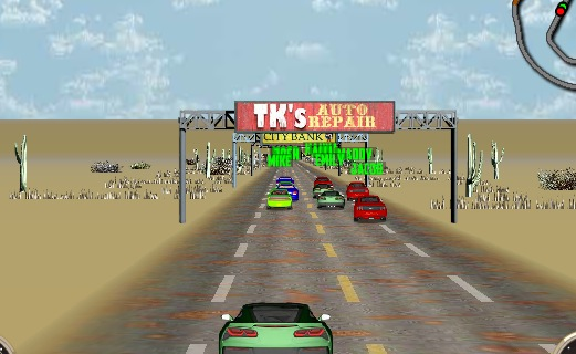 V8 Muscle Cars 2 is a really good online arcade game for some retro fun.