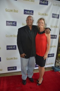 "Manny Perry and Mary Jean Bentley - ""Gallos Road"" Los Angeles Screening - Arrivals - Laemmle's Noho 7 Theatre, 5240 Lankershim Boulevard  - North Hollywood, CA, USA  Photo copyright by Jonathan  Shensa / PR Photos"