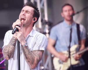 """Maroon 5 - Maroon 5 in Concert on NBC's """"Today Show"""" at Rockefeller Center in New York City - September 1, 2014 - Rockefeller Center - New York City, NY, USA  Photo copyright by Alex Mateo / PRPhotos.com"""