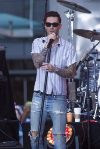 """Maroon 5 - Maroon 5 in Concert on NBC's """"Today Show"""" at Rockefeller Center in New York City - September 1, 2014 - Rockefeller Center - New York City, NY, USA  Photo copyright by MJ Photos / PRPhotos.com"""