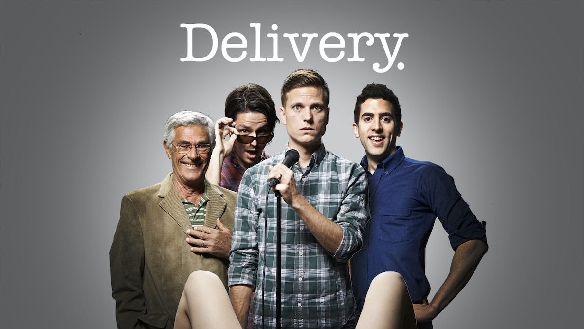 The poster for the Delivery documentary by Mark Myers