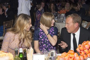 Blake Lively, Anna Wintour, Michael Kors - 2014 God's Love We Deliver, Golden Heart Awards - Inside - Spring Studios - New York City, NY, USA  Photo is copyright by DC Photography / PRPhotos.com
