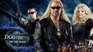 Dog and Beth on the Hunt