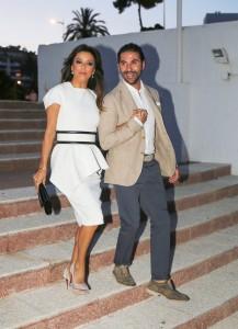 Eva Longoria, Jose Antonio Baston - Global Gift Gala 2014 - Party at the Ocean Club in Marbella - July 18, 2014 - Ocean Club - Marbella, Spain  Photo is copyright by Solarpix / PR Photos